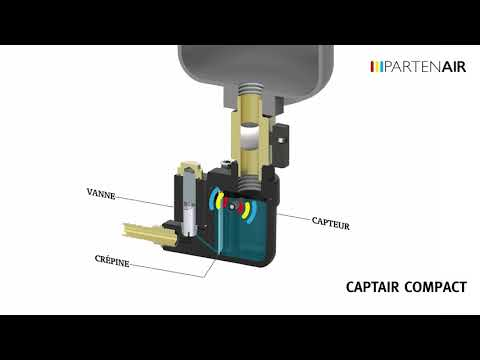 Video Purgeur de condensat - CAPTAIR COMPACT
