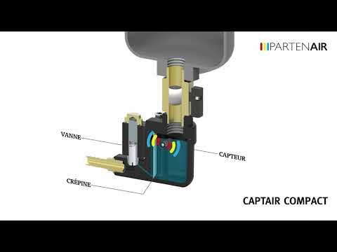 Video Purgeur de condensat - CAPTAIR COMPACT