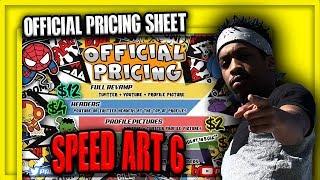 Speed Art Ep. 6 | Making A Pricing Sheet