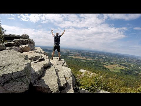 Appalachian Trail: Washington Monument, MD into Pennsylvania