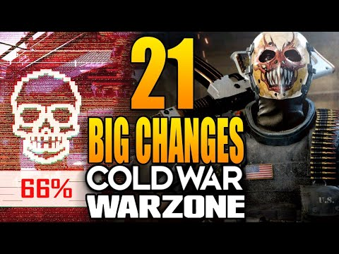 Call of Duty Warzone: 21 Big Changes In Today's Update! - Inkslasher