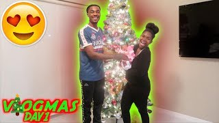 OUR FIRST VLOGMAS WITH OUR BABY GIRL *VLOGMAS DAY* ‼️ tay and jass