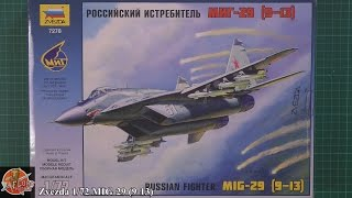 Zvezda 1/72nd MIG-29 review
