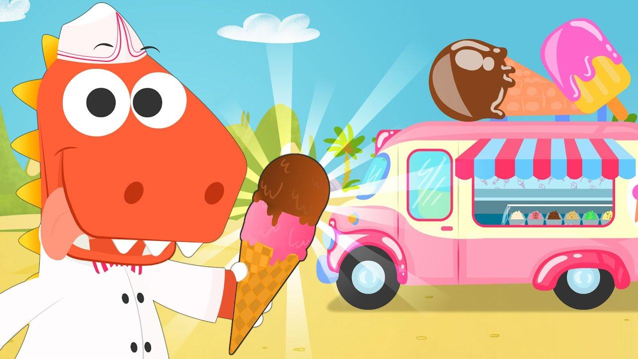 Aprende cómo hacer Helados de Cucurucho con Eddie 🍧😋 Eddie hace helados en la Playa