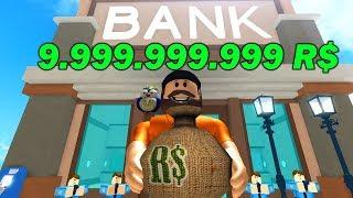 OKRADŁEM BANK PEŁEN ROBUXÓW ? | ROBLOX
