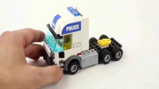 Mainan Lego Mobil Polisi