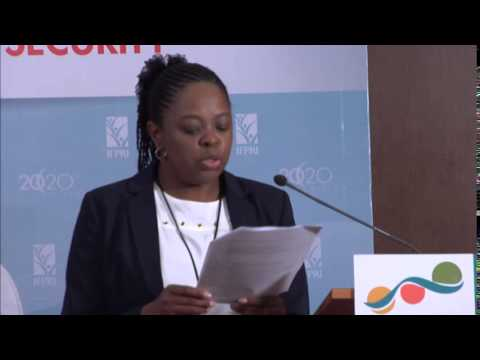 Side Event - Pamela Chitenhe on Exploring Resilience through the Global Food Security Index (1)
