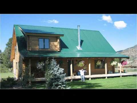 Colorado log cabin plans sds235 1260 sq ft 1 bedroom 1 for Colorado log home plans
