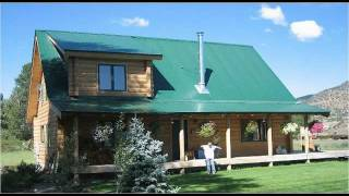 Colorado Log Cabin Plans #sds235 1260 Sq Ft 1 Bedroom 1 Bath Main 600 Sq Ft Loft Cabin Plans