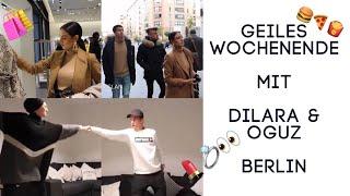 Dilarakaynarca und Oguzaksy zu Besuch bei uns in BERLIN !| VLOG 🍔 💄🛍