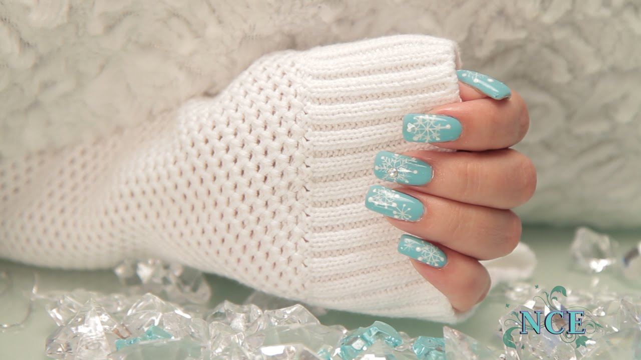 Four Christmas Nail Art Designs for the Holidays - YouTube