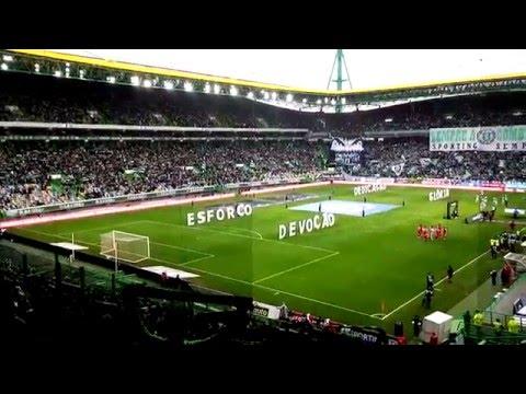 Benfica 2 Sporting 0 - Cânticos dos adeptos do Sporting from YouTube · Duration:  2 minutes 45 seconds