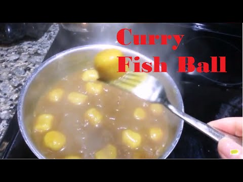 Curry Fish Ball_Hong Kong Style Street Food [fast Cooking]