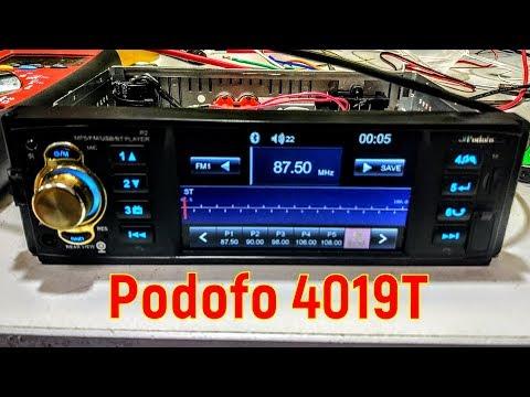 Магнитола Podofo 4019T - обзор