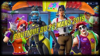FORTNITE: Shop of the day March 26, new shop, EMOTE CLOCHE LAMA, SKIN INTELLO!