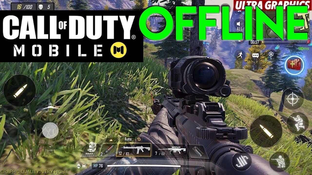 Call Of Duty Mobile Offline Keren Banget