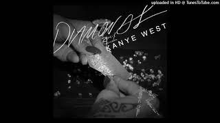 Rihanna - Diamonds (Remix) (feat. Kanye West) [Audio]