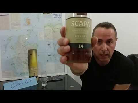 Виски обзор 117. Scapa 14 Years Old, 40% Alc