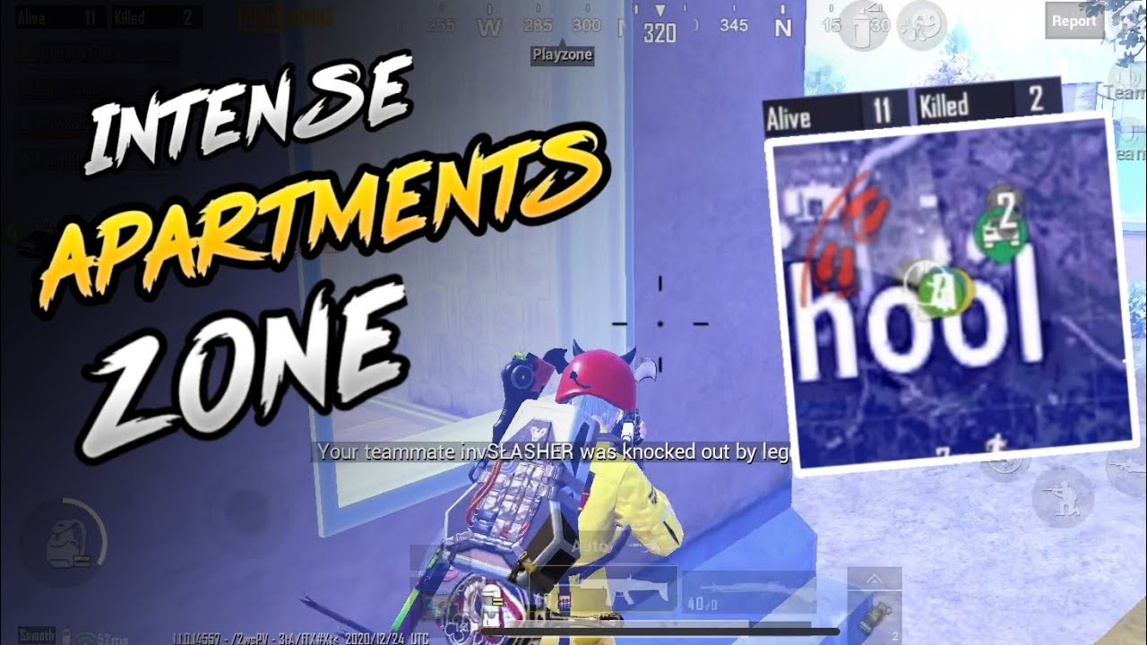Intense Apartments Zone WWCD In Scrims | iPhone XR 2 Finger + Gyro | PUBG Mobile | Skeleton Gaming