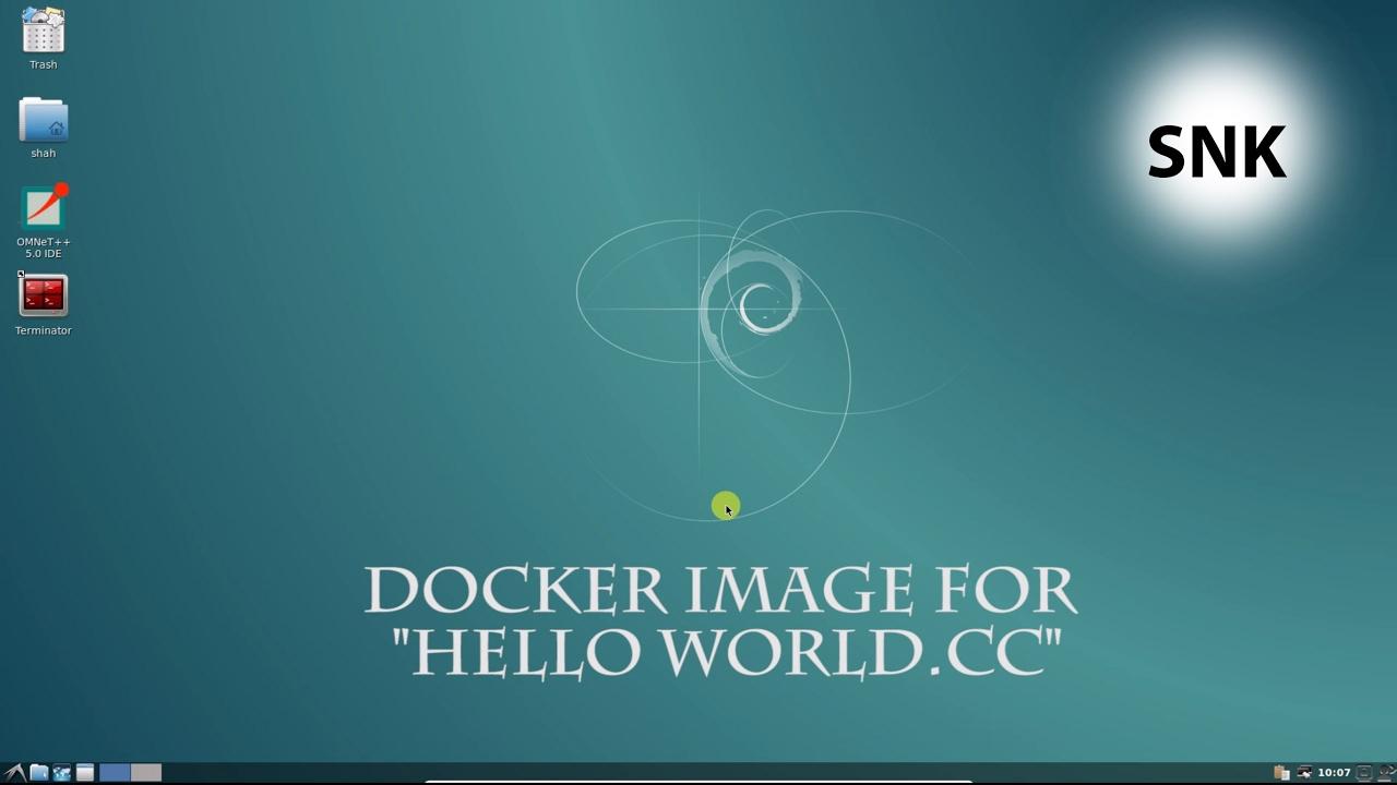 create docker image from scratch