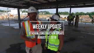 Weekly Update - Baseball Stadium Update