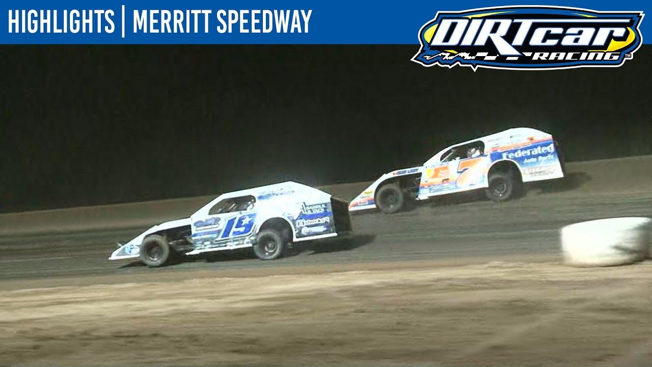DIRTcar Summer Nationals Modifieds Merritt Speedway August 22, 2020 | HIGHLIGHTS
