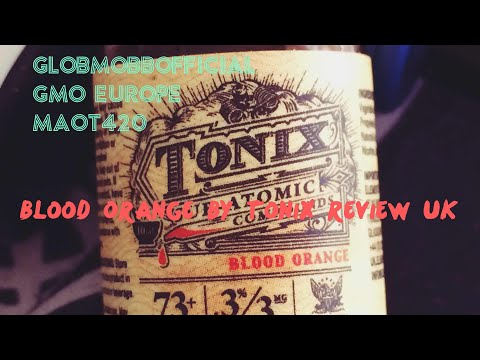 Blood Orange E-Liquid by TONIX Review UK  - YouTube