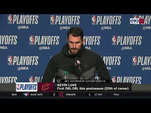 Kevin Love full interview following Game 2 victory in Toronto | CAVS-RAPTORS POSTGAME