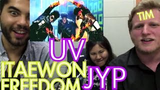 UV ft. JYP - Itaewon Freedom REACTION