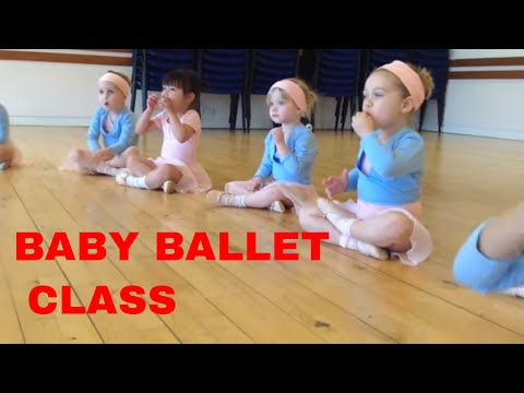 Ballet class for age 3 years - baby ballet. Nursery ballet. preschool