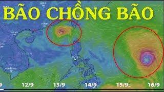 Cập nhật bão số 5 Barijat CHỒNG Siêu bão MANGKHUT dồn dập tiến vào Biển Đông - News Tube