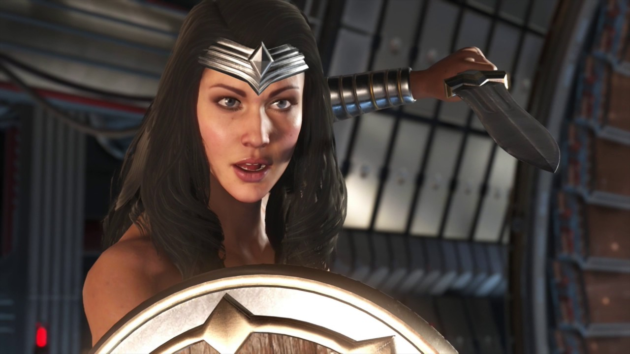 Injustice 2 - *All Wonder Woman Intro Dialogue - YouTube