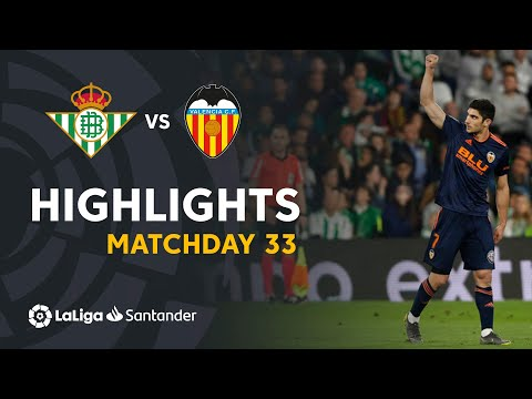 Highlights Real Betis vs Valencia CF (1-2)
