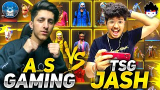 TSG Jash Vs As Gaming Bundles Collection Versus😱||Richest Collection Of Free Fire🔥-Garena FreeFire