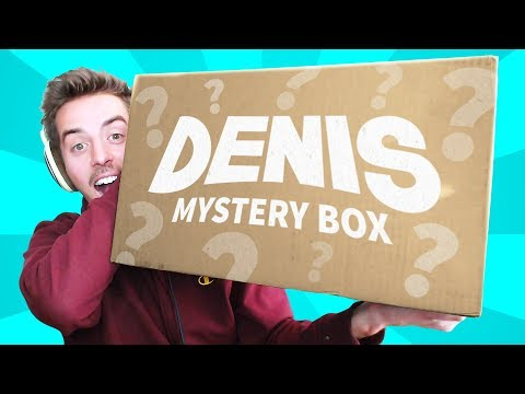 Opening the DENIS MYSTERY BOX!