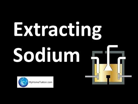 Extraction Of Sodium | Electrochemistry