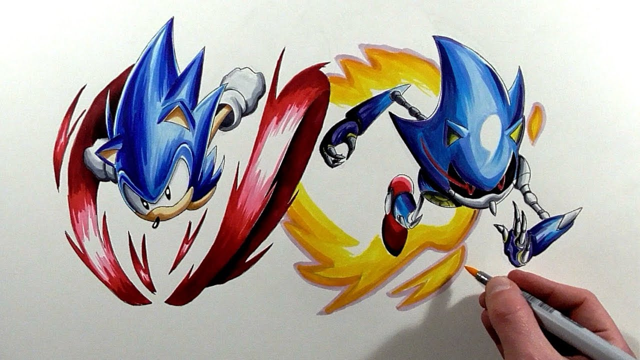 Sonic Disegno: How To Draw Sonic Exe, Step By Step, Characters, Pop