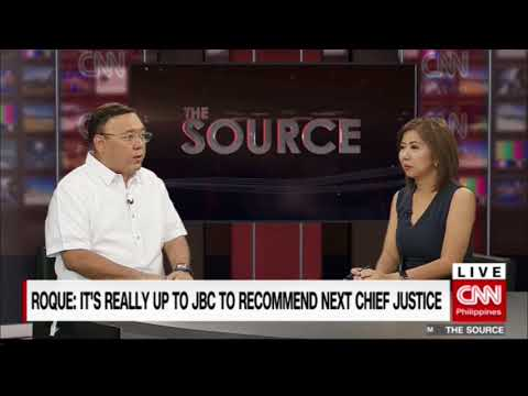 'The Source' speaks to Presidential Spokesperson Harry Roque Jr.