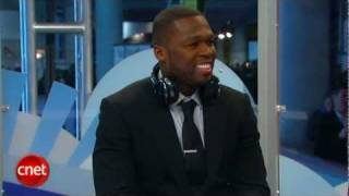 50 Cent comes to the CNET stage