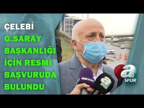 Işın Çelebi Galatasaray Başkanlığı İçin Resmi Başvuruda Bulundu! / A Spor