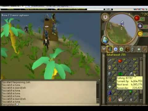 1-99 fishing guide f2p rs3