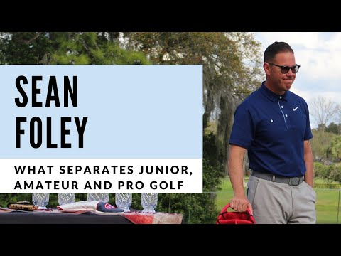 Differences between Junior, Amateur and Professional Golf