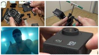SJ4000 Полный, Тесты Видео и Креплений (Full Review, Video Test, Mounting Kit). Аксессуары для Фото- и Видеокамер