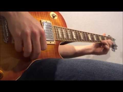 Guns N' Roses - This I Love Lesson (guitar solo cover + tabs) [HD]