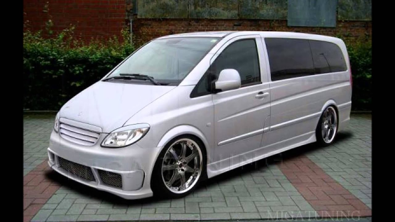 mercedes vito viano tuning body kit youtube. Black Bedroom Furniture Sets. Home Design Ideas