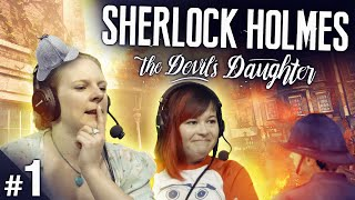 Sherlock Holmes: The Devil's Daughter #1 - Old Tabard