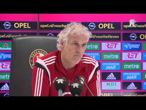 Bekijk de hele persconferentie van Fred Rutten