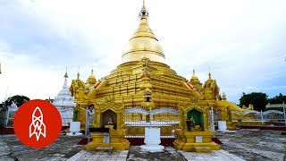 This Pagoda Contains the Largest Book in the World