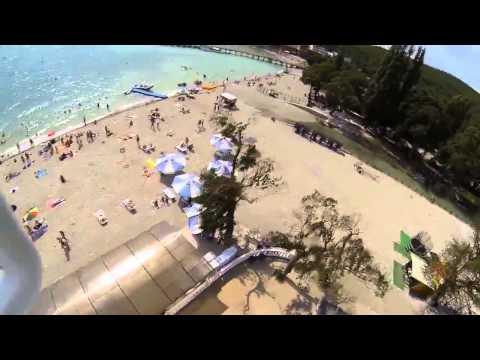 Город-курорт Геленджик, Голубая Бухта - с высоты птичьего полёта