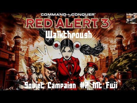 Command & Conquer Red Alert 3 - Soviet Mission 7 - Mt  Fuji - Walkthrough